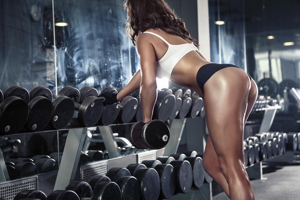 Sexy Teenage Female Body Building Vedio 21