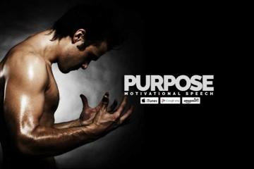 purpose motivational speech