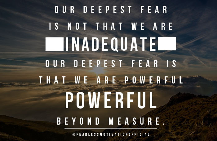 Inspirational Quotes About Fear: Fearless Motivational Quotes. QuotesGram