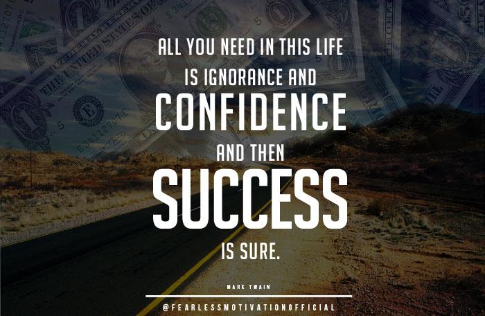 quotes-on-success-mark-twain
