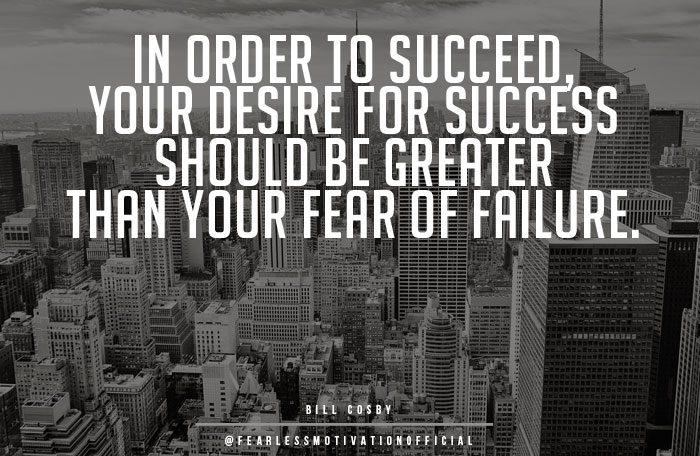 quotes on success and failure