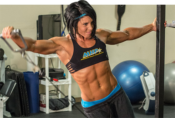 how to look like a bodybuilder no machines