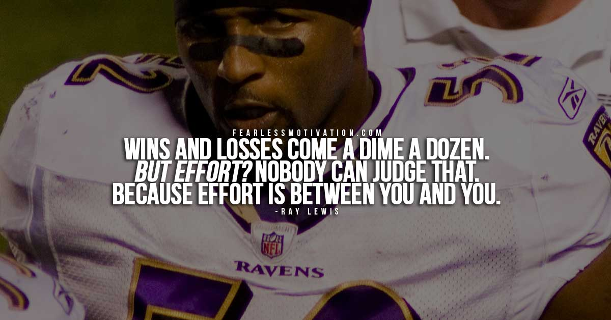 Quote By Retired Nfl Player Ray Lewis: 10 Of The Best Ray Lewis Quotes