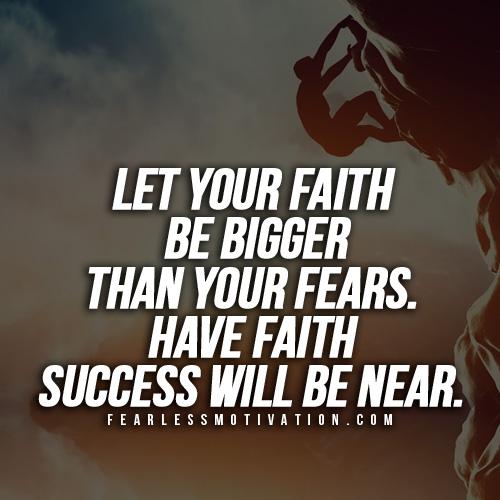 Inspirational Quotes About Failure: You Gotta Have Faith Motivational Speech
