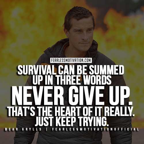 Inspirational Survival Quotes: The Survivor Spirit