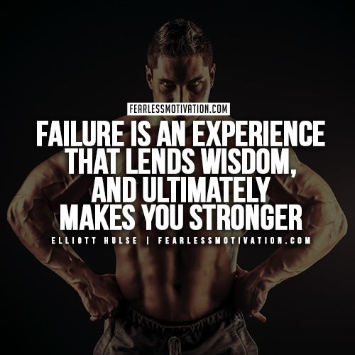 Elliott Hulse Quotes - Failure