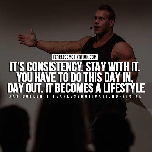 Jay Cutler Quotes - Consistency