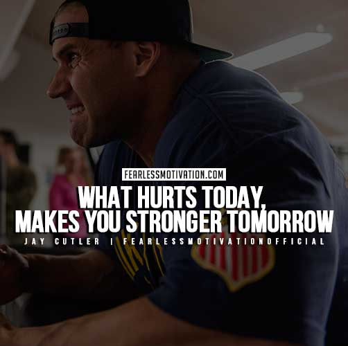 Jay Cutler Quotes - What Hurts Today