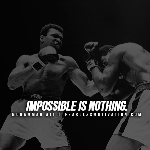 Inspirational Quotes About Positive: Muhammad Ali's Top 10 Rules For Success & Quotes On Greatness