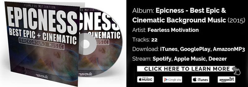 epicness background music album