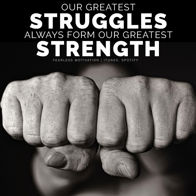 Struggle Makes You Stronger (Motivational Speech