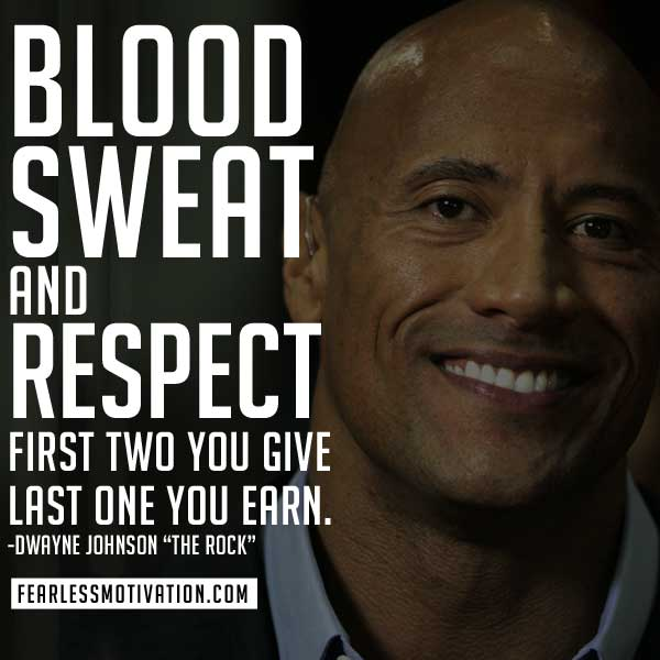 10 of the Best Motivation Quotes by Dwayne Johnson (The