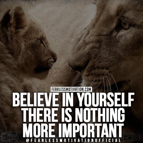 I migliori discorsi motivazionali credono