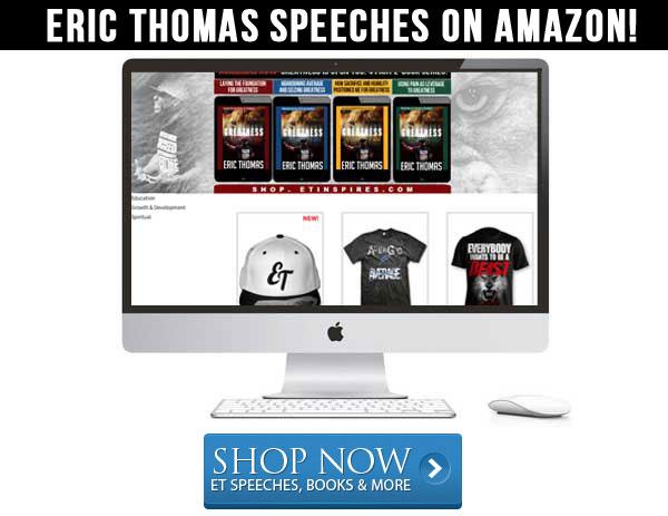 eric thomas motivational speaker amazon mp3