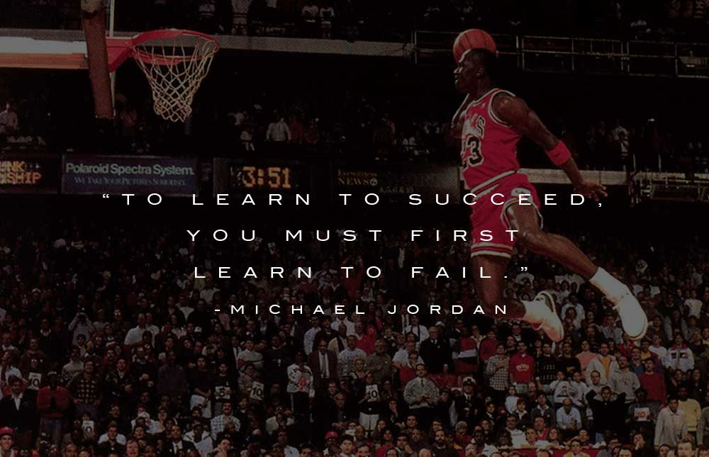 Michael Jordan Quotes – A Champion is Made not Born