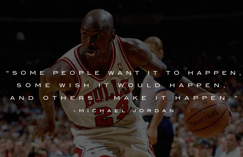 Michael Jordan Quotes A Champion Is Made Not Born