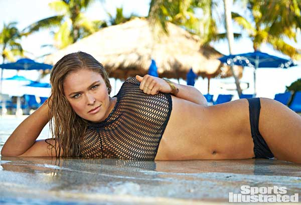 Ronda Rousey is Hot, Fierce & Motivated!