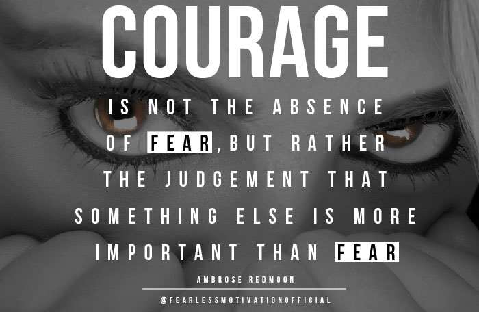 Fear Quotes Best Quotes On Fear 10 Great Picture Quotes On Overcoming Fear