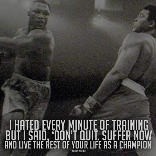 i hated every minute of training ali