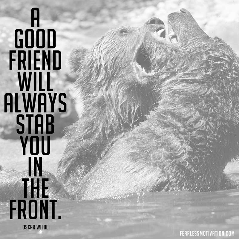 oscar wilde quotes a good friend