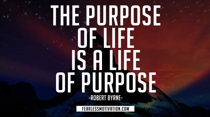 trovare il tuo scopo