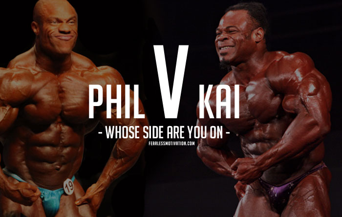 Phil Heath Vs Arnold Schwarzenegger