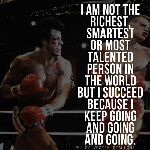 Famous Rocky Quotes Cool Epic Rocky Balboa Quotes & Sylvester Stallone Speeches