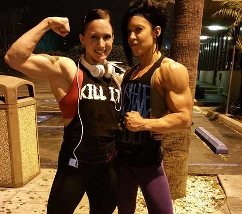 Dana Linn Bailey Bodybuilding Women