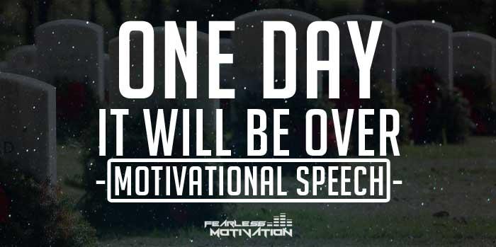 motivational speech one day fearless
