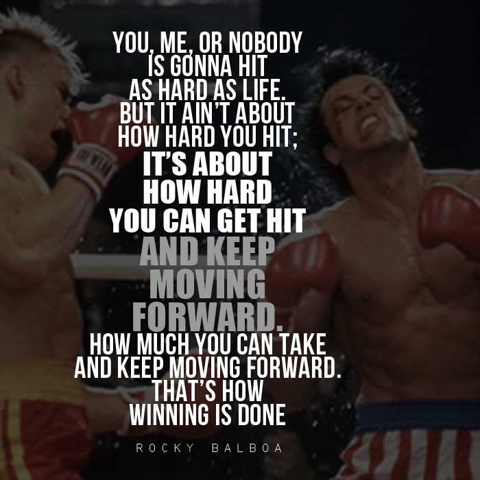 Epic Rocky Balboa Quotes Sylvester Stallone Speeches
