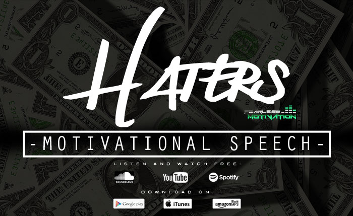 haters motivational speech