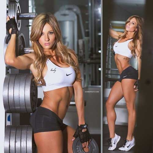 Fitness Model Diet Paige Hathaway