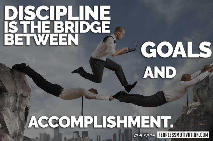 goal setting for success-discipline-jim-rohn