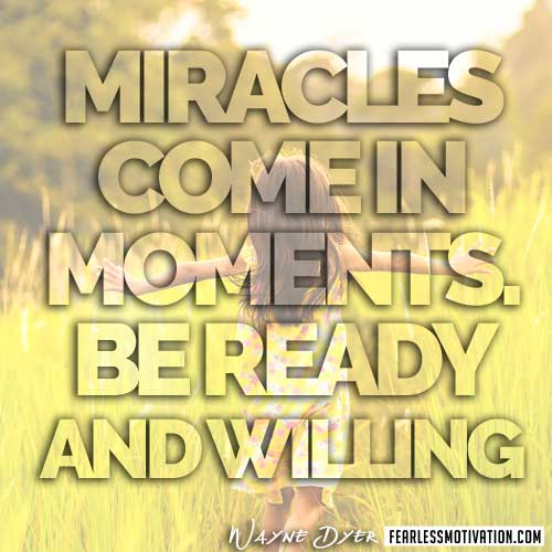 dr. wayne dyer quotesr-miracles