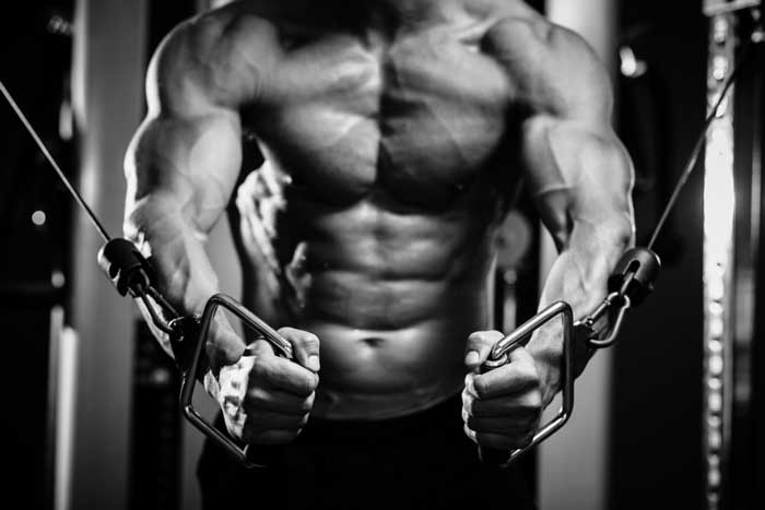 cable flyes chest workout routine