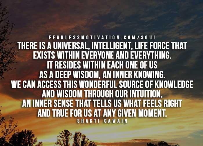 Citazioni di intuizione