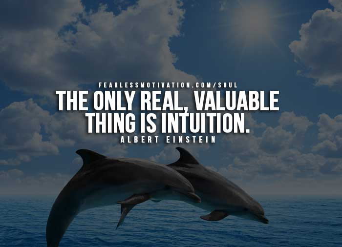 intuition quotes