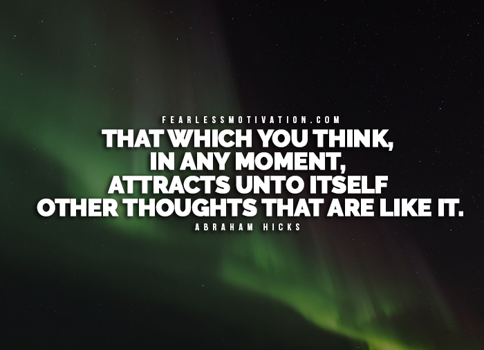 Law Of Attraction Quotes Pleasing 7 Of The Best Law Of Attraction Quotesabraham Hicks
