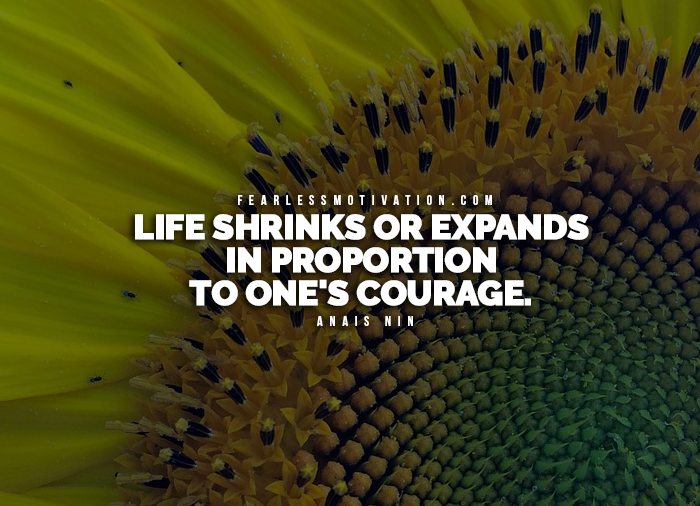 Quotes Courage Simple 17 Of The Most Powerful Quotes On Courage Fearless Motivation