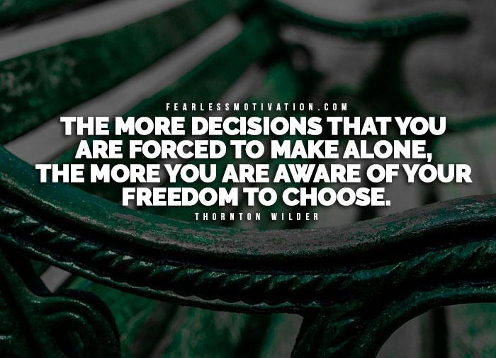 è la libertà una scelta