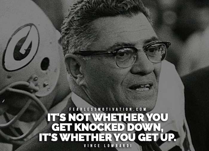 10 Life Lessons From Vince Lombardi Fearless Motivation