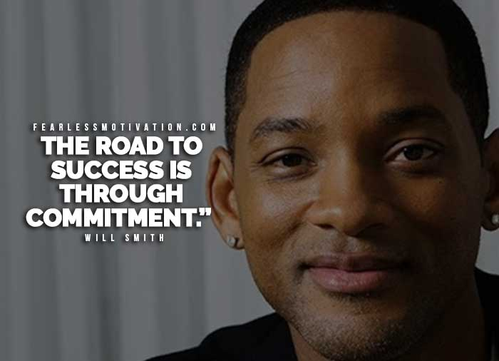 success through commitment quotes