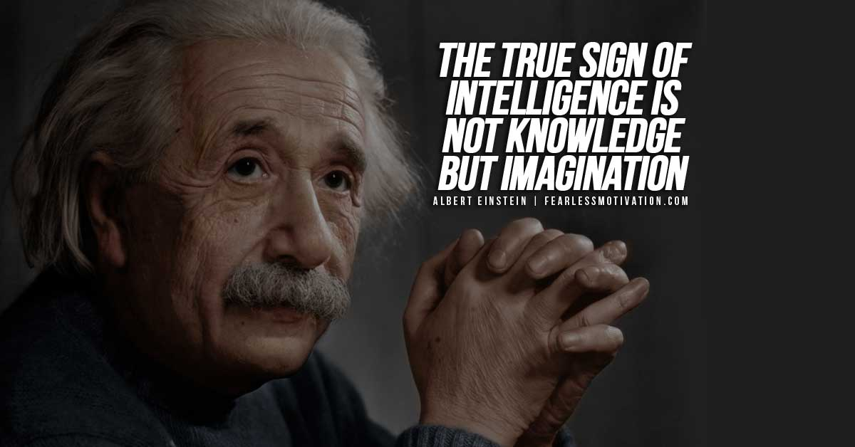 60 Of The Best Inspirational Quotes From Albert Einstein Fearless Best Albert Einstein Quotes