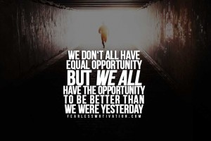 opportunity motivational quotes
