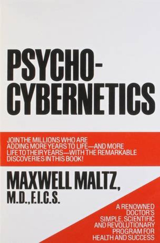 The book cover for psycho-cybernetics