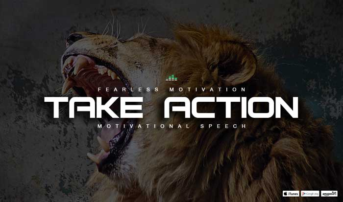 motivational speech success life take action
