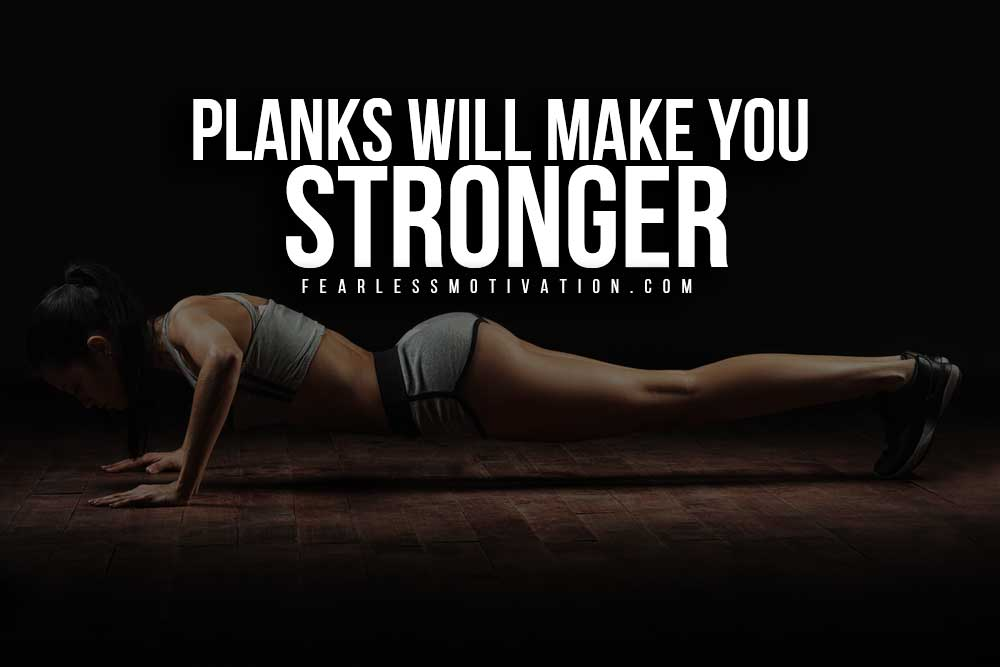 Home-Workout---Planks will make you stronger