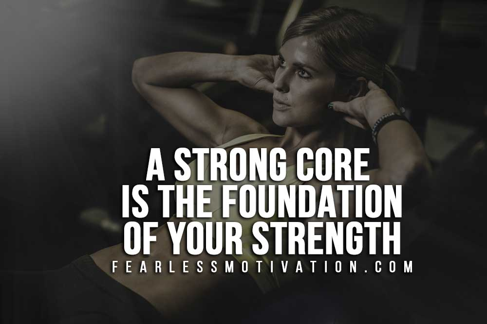 Home-Workout---Strong core is the foundation
