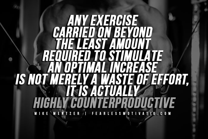 Mike Mentzer Quotes - Exercise