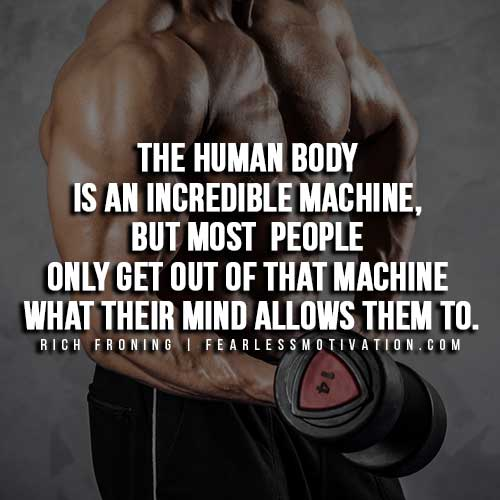 Rich Froning Quotes - Human Body is an incredible machine
